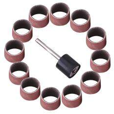 minxin Drum Sanding Sandpaper Bands Sleeves Mandrel Woodworking Craft Polishing Kit (#600)