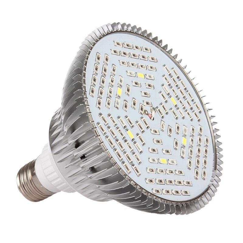 Bảng giá E27 80W LED Plant Grow Light Spectrum Bulb Lamp For Indoor Garden Greenhouse Plants Flower Hydroponics System - intl