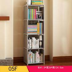 Easy Shelf Multi Function Non Woven Dustproof Bookcase Childrens Bookshelves Kids Room Storage Rack