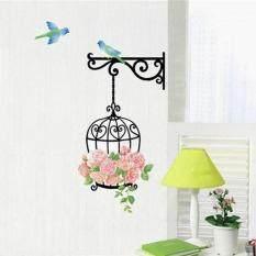 Ebay 鸟笼墙贴 DIY装饰墙贴