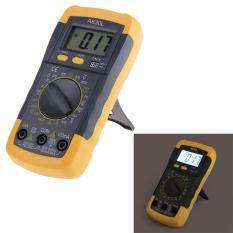 [Uebfashion] Electrical LCD Digital Multimeter AC DC Voltmeter Ohmmeter Multitester