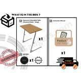 c7f51105af4 Ergonomic Adjustable Table   Foldable Table   Notebook Table (Standard Model  -Beige Light Brown)