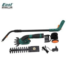 ET1502 Power Tools 7.2V Combo Lawn Mower Rechargeable Hedge Trimmer Grass Cutter Cordless Garden Tools