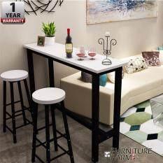 Fu0026F : [160/40/100] CIEL Living Room Simple Table [BLACK