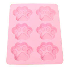 Fang Fang 3D Rose Flower DIY Wedding Paste Chocolate Cake Baking Silicone Decorating Molds (Pink)MYR11. MYR 11