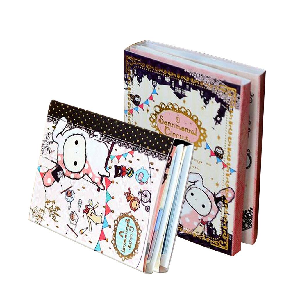 Mua Fang Fang Cute Japan San-X 6 Fold Circus Post It Bookmark (Multicolor) - intl