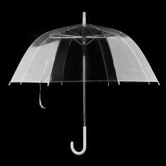 Fashion Transparent Clear Automatic Umbrella Parasol For Wedding Party Favor