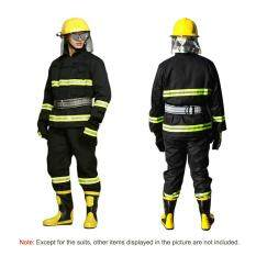 Flame Retardant Clothing Fire Resistant Clothes Fireproof Waterproof Heatproof Fire Fighting Equipment By Tomtop.