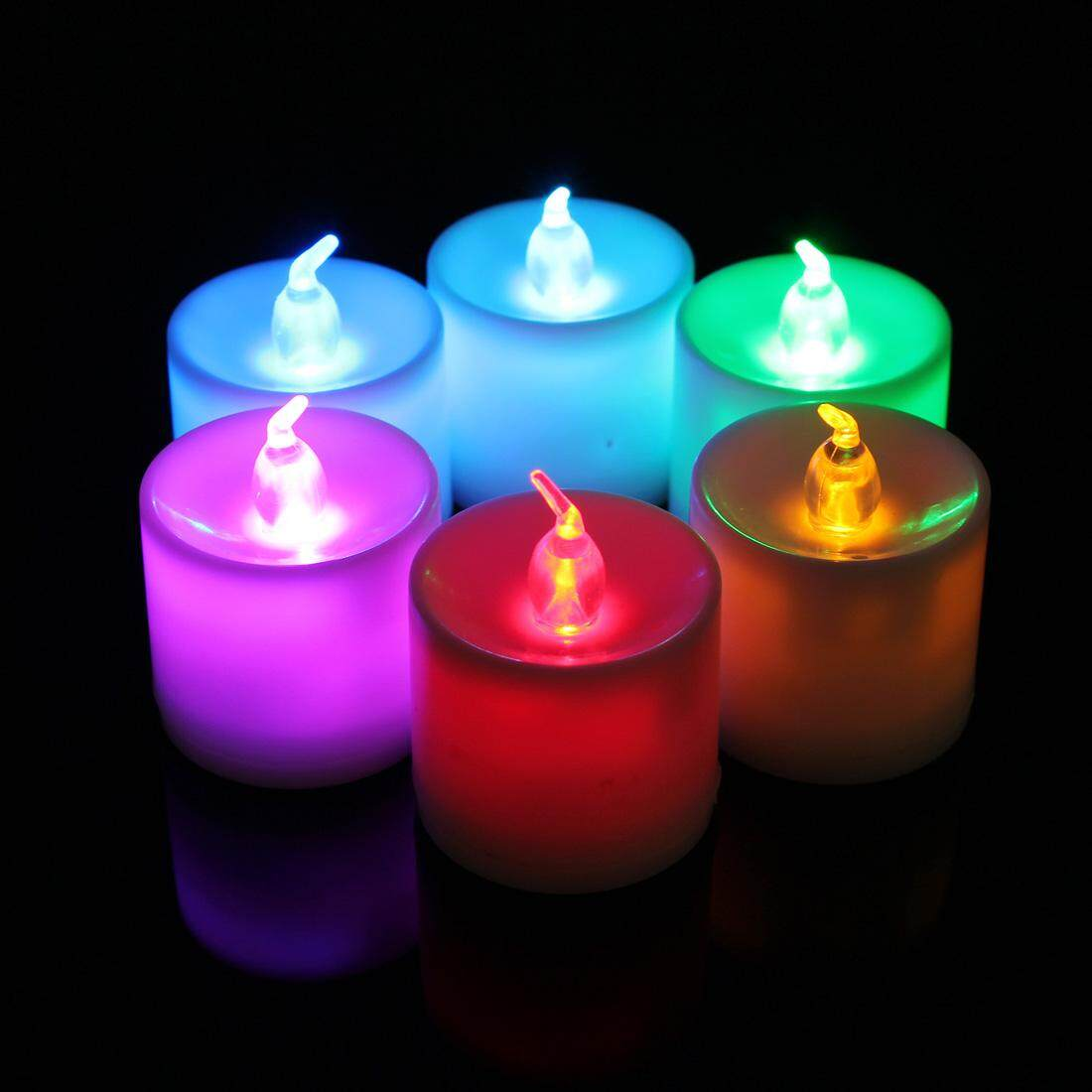 Khuyến mãi Flameless LED Tealight Candles Light Battery Operated For Home Wedding Party chỉ hôm nay