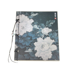 Floral Pattern Eye-Protecting Blank Drawing Sketching Doodling Notebook Journal Diary Thread Bound Book with