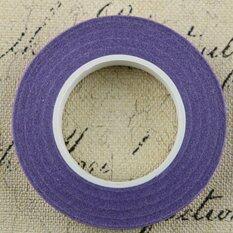Florist Green Floral Stem Tape Corsages Buttonhole Artificial Flower Stamen Wrap Purple