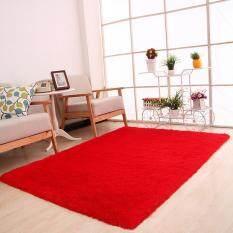 Bedroom Dinning Room Floor Mat Soft Shaggy Rug Carpet (pink)MYR14 .
