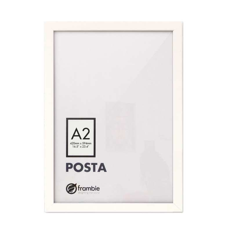 Frambie POSTA - White Poster Frame - A2 Size Picture Frame - intl