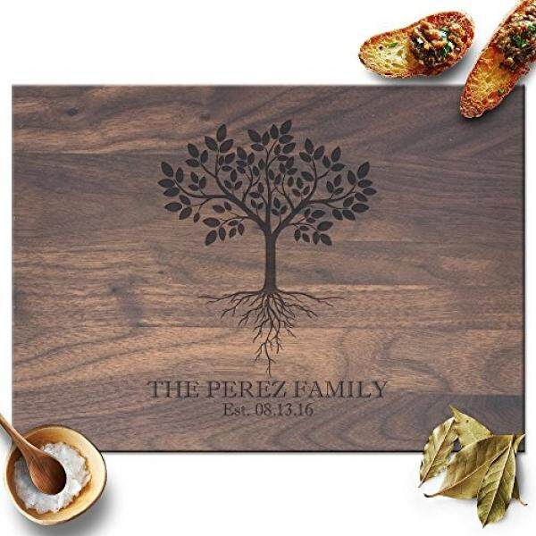 Froolu Tree with Roots handmade wooden cutting boards fr Best Friends & Colleagues Christmas Gifts - intl