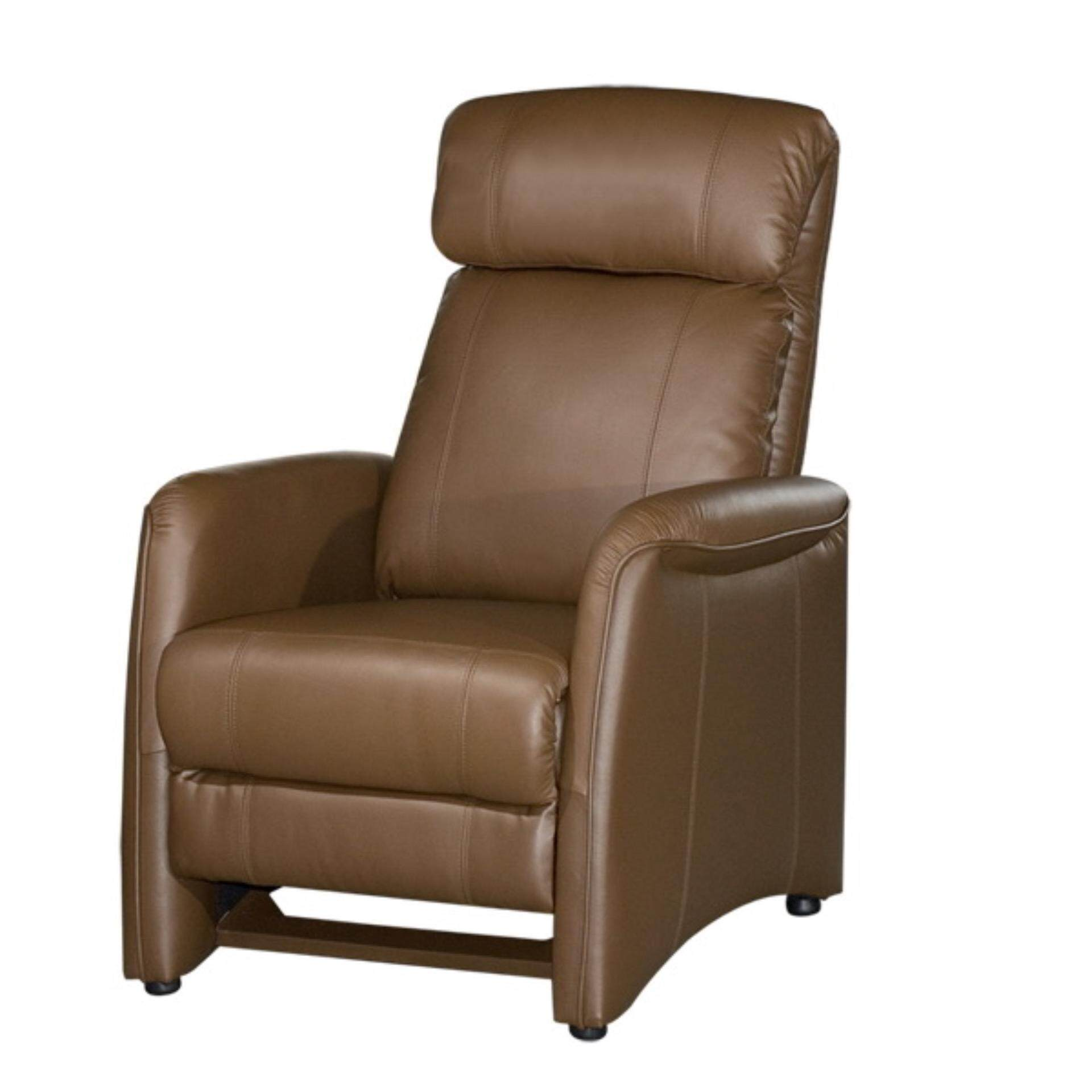 Fully Leather Push-Back Recliner Single Seater (5 Years Warranty)