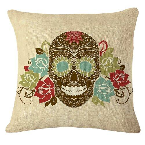 Hình ảnh TOMSOO Skull Pillows Cover Creative Minimalist Geometry Pillows Covers Decorate Nordic Style Sofa Cushion Case M-11 fixed - intl