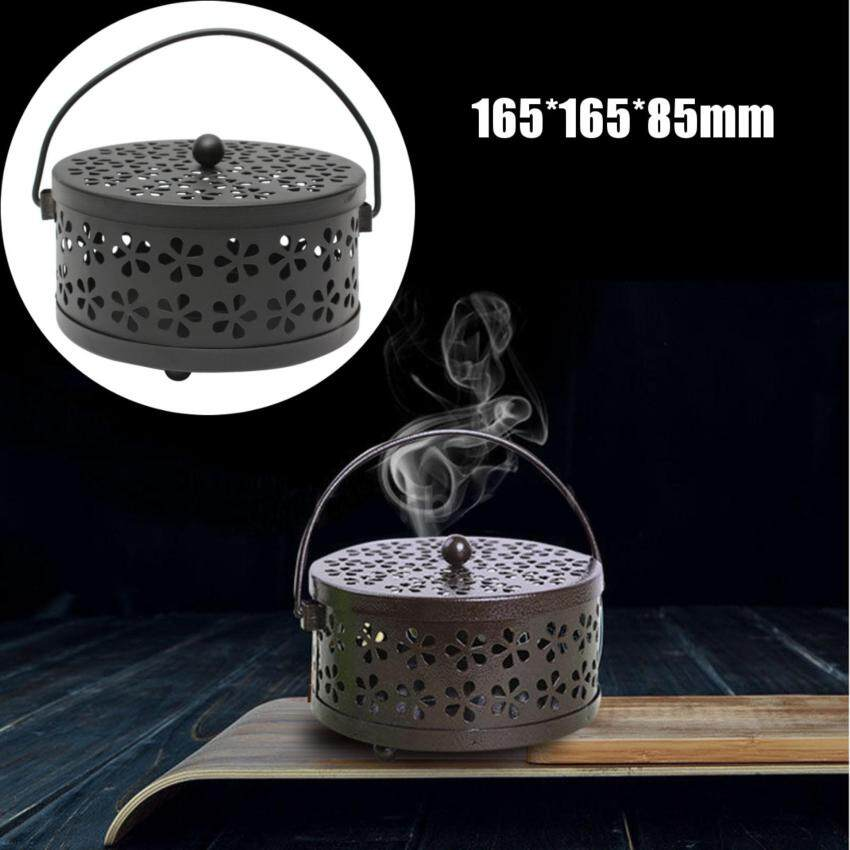 NiceTop  Galvanized Steel Mosquito Mozzie Coil Holder Burner Repellant Home Art Decor