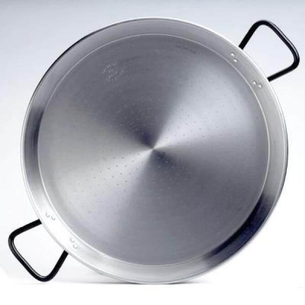 Garcima 22-Inci Pata Negra Restoran Kelas Paella Pan, 55 Cm-Internasional