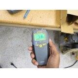 Pin Type LCD Digital General Tools MMD4E Moisture Meter