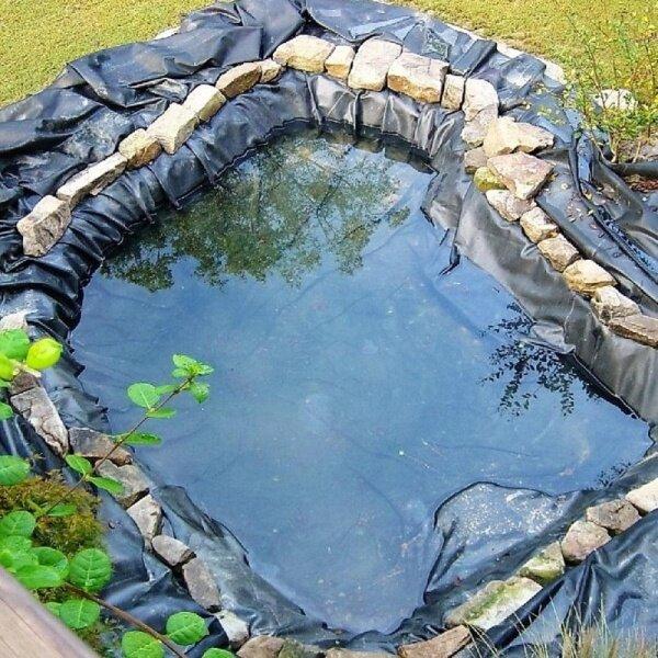 Geomembrane impermeable membrane reservoir / lotus pool / pond impermeable membrane waterproofing membrane aquaculture ponds dedicated film 3.5m X 3.5m - 3.5m X 3.5m