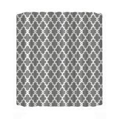 Geometry Pattern Printed Waterproof Shower Curtain