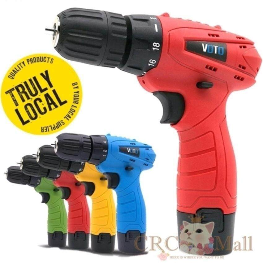 Price Compare Germany Voto East Tools 12V Cordless Drill Electric Screwdriver Red Intl