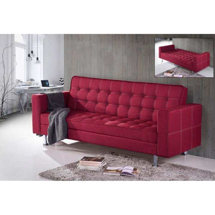 GF RED SOFA BED FABRIC: Buy Sell Online Sofas With Cheap
