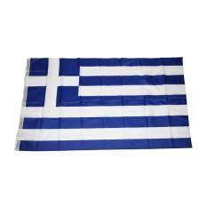 GREECE 5ft x 3ft EUROPE FLAG