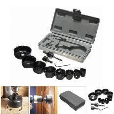 Hand Woodwork Tool Kit 11Pcs Durable DIY Metal Drill Hole Opener Saw Set