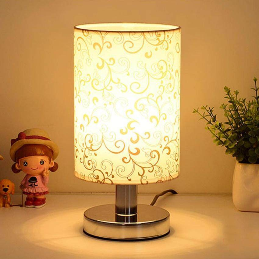 Huade Led E27 Warm White Stainless Steel Table Lamp Lighting Best Sellersoft Night Light Side Table Lamp By Huade Store.