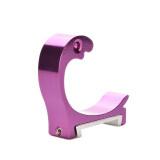 Hat Coat Hanger Hook Aluminum Hanger Purple - intl