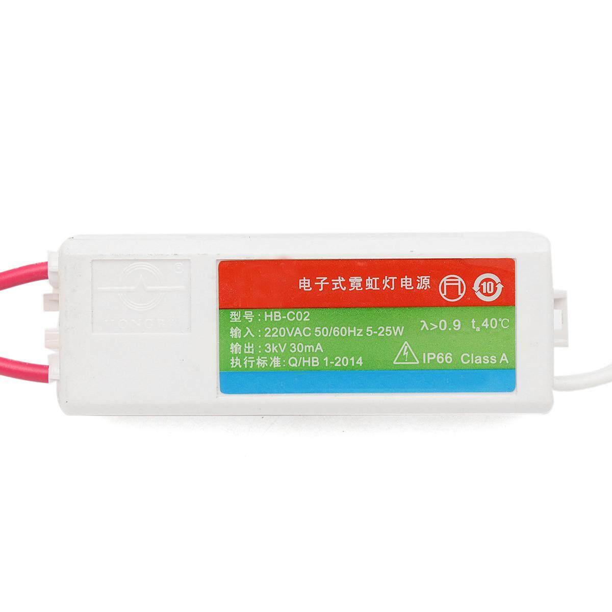 HB-C02 Plastic Neon Light Electronic Transformer 3KV 30mA Load Neon Sign Power Supply - intl - 4