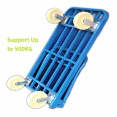Heavy Duty Strong Extra Large (120x65CM) Hand Truck Trolley Support 500KG Load