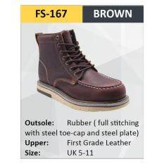 Hercules Safety Shoes First Grade Leather Men Boot SKU-FS167MYR240. MYR 240 33c1de6f46