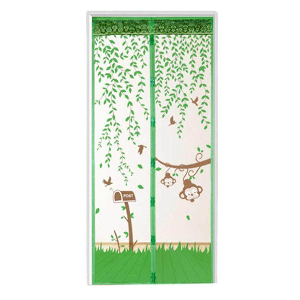 Kancing Magnet Tirai Pintu Jendela Jala Serangga Terbang Serangga Nyamuk Layar Penjaga Bersih HijauIDR100000. Rp 100.000