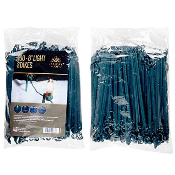 Outdoor lighting for sale outdoor lights prices brands review holiday joy 100 light stakes 8 high ideal for christmas lights mozeypictures Gallery