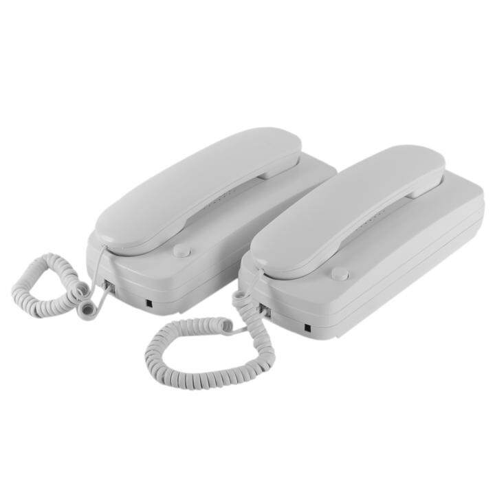 Home/Office Wired Intercom Telephone System With Wall
