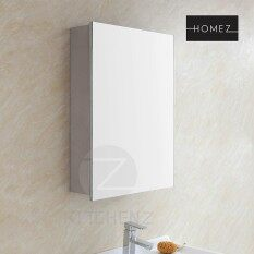 Homez Bathroom Mirror Cabinet A4022R 100% Stainless Steel With 4G Mirror    L350 X D140