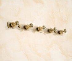 Hook Hang Bathroom Accessories Bathroom Towel Bar Towel Rack Hookbrass European-Wide Carved Vintage Antique Bronze Hooks