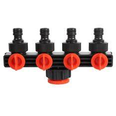 epayst Hose Pipe Splitter Plastic Drip 4 Way Tap Connectors