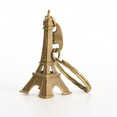 MYR 72. HOT 2 Pcs Bronze Tone Paris Eiffel Tower Figurine Statue Vintage Alloy Model Decor Metal Craft Home Decor 5cmMYR72