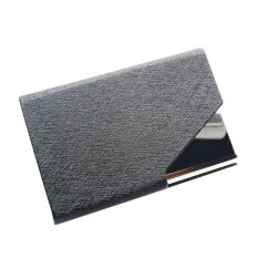 Men card holders buy men card holders at best price in malaysia hot pu stainless velvet purse business name id credit card holder case boxblack reheart Image collections