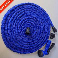 **HOT SALE** High Quality Garden Water Hose Flexible with Spray G U N Telescoping(75FT)