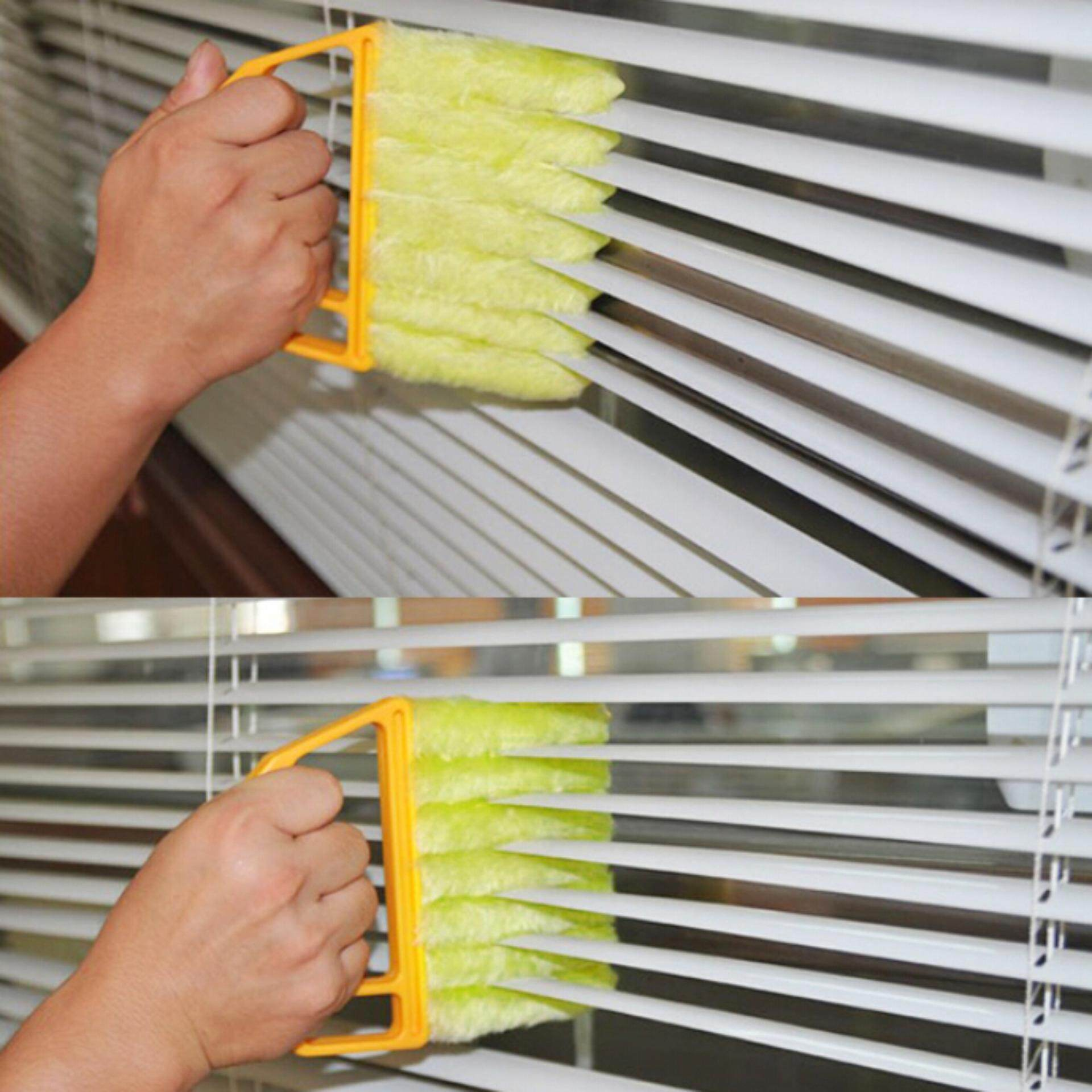 Hot Sale Microfibre Lint Brush Venetian Blind Cleaner Brush Mini Window Air Conditioner Duster Cleaner Dust