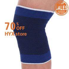 HOT SALE!!!Unisex 2 Knee Arthritis Gym Sports Pain Relief Elastic Brace Muscle Support Wrap Sleeve