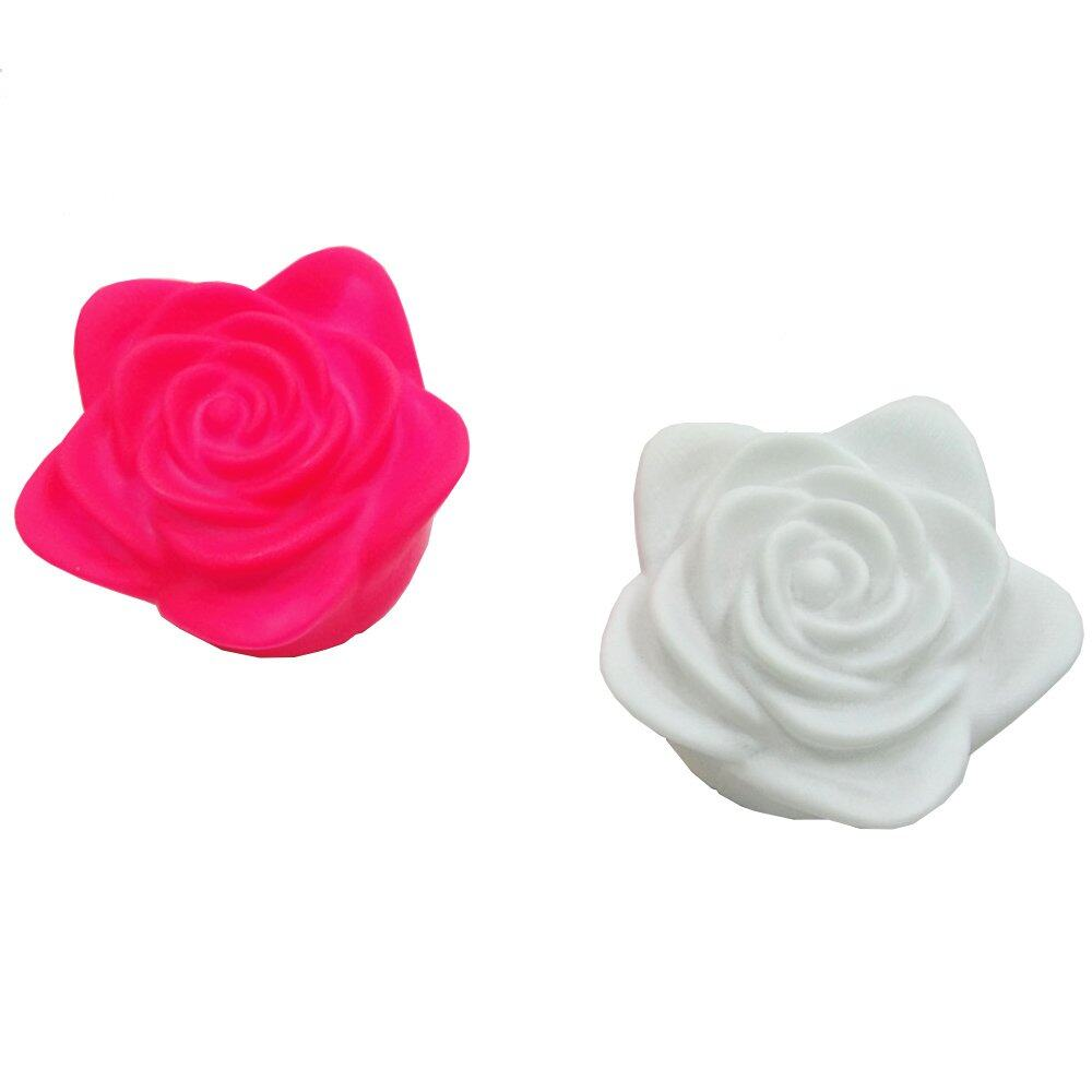 Iberl 30 Pcs Changing Colors Rose Flower Led Light Night Candle Lamp Romantic Party Red Intl China