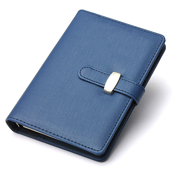 Mua Identity Dairy Personal Planner Organiser Leather Hook Note Book Filofax Gift Blue - intl
