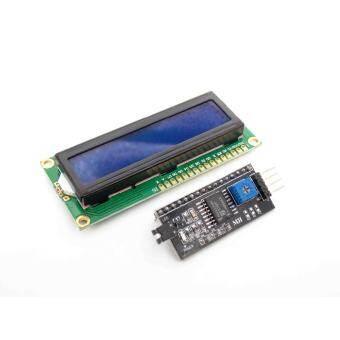 IIC / I2C + 1602 Blue Screen LCD Display Module-
