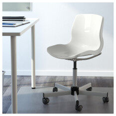 Ikea 590.462.61 Snille Swivel Chair (White)   Plastic Office / Computer  Chair