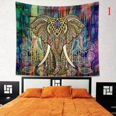 Indian Colorful Printed Mandala Beach Tapestry Bohemia Blanket(Color:1,Size:M)
